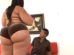 Caramel skin fatty fucks brains out black fat xxx