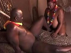 Lusty mature BBW gets real fuck and cum in mouth black fat xxx