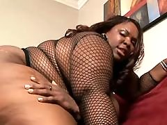Splendid black fatty takes up cock black fat xxx