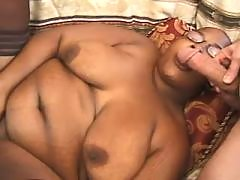 Steamy black bbw gets plugged hard black fat xxx