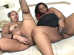 Fat ebony knows how to handle cock black fat xxx