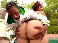 Booty ebony BBW spoils black friend black fat xxx